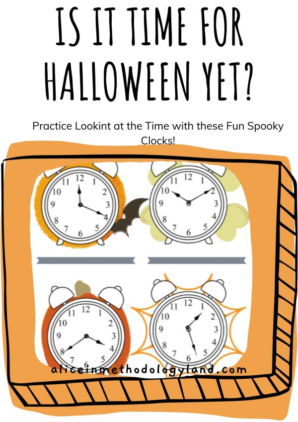 🎃 What's the Time? – Telling Time Halloween Edition