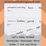 🎃 Halloween Handwriting & Tracing – Let's Practice Our Little Fingers!